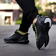 baratos Sapatos de Menino-Para Meninos / Para Meninas Sapatos Couro Ecológico Primavera & Outono / Primavera Conforto Tênis Corrida / Caminhada Cadarço / Velcro para Adolescente Verde / Branco / Preto / Black / azul