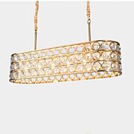 billige Takbelysning og vifter-QIHengZhaoMing 8-Light Lysekroner Omgivelseslys Malte Finishes Metall 110-120V / 220-240V Varm Hvit LED lyskilde inkludert
