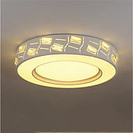 billige Taklamper-Flush Mount Lighting Omgivelseslys galvanisert Metall Akryl Krystall, Anti-refleksjon, LED 110-120V / 220-240V Varm Hvit / Kald Hvit