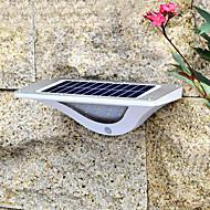 billige Utendørs Lampeskjermer-1pc 4.5 W Solar Wall Light Solar / Infrarød sensor / Dekorativ Hvit 3.7 V Utendørsbelysning 16 LED perler
