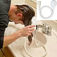 abordables Accessoires de Bain-1pc robinet tête de douche spray draine le tamis tuyau évier lavage des cheveux douche