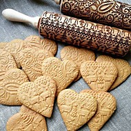 Bageværktøj Træ Smuk / Multifunktion Kage / Småkage Cake Moulds / Kagerulle 1pc