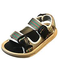 baratos Sapatos de Menina-Para Meninos / Para Meninas Sapatos Sintéticos Verão Conforto Sandálias para Adolescente Preto / Khaki