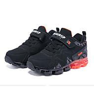 baratos Sapatos de Menino-Para Meninos Sapatos Sintéticos Inverno Conforto Tênis Velcro para Infantil Preto / Vermelho / Preto / verde / Estampa Colorida
