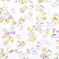 Teracotă / Reșină Sfaturi utile artificiale Kit Acrilic 3D Acțibilduri de Unghii Pentru Unghie Cristal / Interfață 3D / Design special Serie de Bijuterii Romantic Series Seria de mesaje nail art