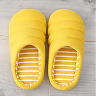 baratos Sapatos de Menina-Para Meninos / Para Meninas Sapatos Algodão Outono & inverno Conforto Chinelos e flip-flops para Infantil Cinzento Escuro / Verde / Rosa claro / Listrado