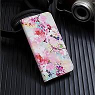 Hülle Für Huawei Huawei Nova 3i / Huawei Mate 20 Lite Geldbeutel / Kreditkartenfächer / mit Halterung Ganzkörper-Gehäuse Blume Hart PU-Leder für Huawei Nova 3i / Huawei P Smart Plus / Huawei Mate 20