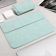 billige Computertasker-polyester Laptoptaske Lynlås Himmelblå / Lys pink / Kakifarvet