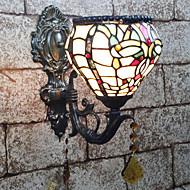 tanie Oświetlenie lustra-Kreatywne / Słodkie Muślin / Retro / Vintage Lampy ścienne / Oświetlenie łazienkowe Sypialnia / w pomieszczeniach Żywica Światło ścienne 110-120V / 220-240V 25 W