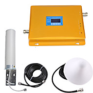 abordables -affichage lcd gsm / dcs répéteur de signal de téléphone mobile amplificateur de signal amplificateur de signal 900/1800 double bande