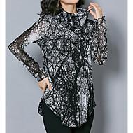женская тонкая блузка - леопардовая водолазка