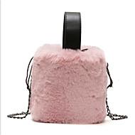 baratos Bolsas de Ombro-Mulheres Bolsas Poliéster Bolsa de Ombro Ziper Rosa / Cinzento / Khaki