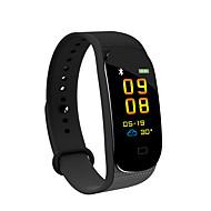 JSBP YY-M5 Intelligente Bracciale Android iOS Bluetooth Impermeabile Monitoraggio frequenza cardiaca Misurazione della pressione sanguigna Schermo touch Pedometro Avviso di chiamata Localizzatore di
