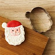 billiga Kök och matlagning-Bakeware verktyg Rostfritt stål Jul Tårta / Kaka / Choklad Pepparkaksformar 1st