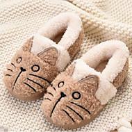 baratos Sapatos de Menino-Para Meninos / Para Meninas Sapatos Algodão Outono & inverno Conforto / Forro de peles Chinelos e flip-flops para Infantil Azul / Rosa claro / Khaki