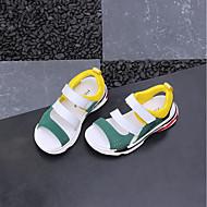 baratos Sapatos de Menino-Para Meninos / Para Meninas Sapatos Com Transparência / Microfibra Primavera Conforto Sandálias para Bébé Preto / Amarelo / Azul