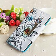 billiga Mobil cases & Skärmskydd-fodral Till Xiaomi Mi 8 / Xiaomi A2 lite Plånbok / med stativ / Mönster Fodral Blomma Hårt TPU för Redmi Note 5A / Xiaomi Redmi Note 5 Pro / Xiaomi Redmi 6 Pro