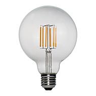 billige Glødelampe-1pc 40 W E26 / E27 G95 Varm hvit 2200  2700 6000 k Glødende Vintage Edison lyspære 220-240 V / 110-130 V