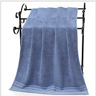 Χαμηλού Κόστους Πετσέτα μπάνιου-Ανώτερη ποιότητα Πετσέτα μπάνιου, Μονόχρωμο Πολυ / Βαμβάκι 1 pcs