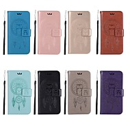billiga Mobil cases & Skärmskydd-fodral Till OnePlus OnePlus 6 / OnePlus 5T Plånbok / Korthållare / med stativ Fodral Uggla Hårt PU läder för OnePlus 6 / OnePlus 5T