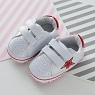 baratos Sapatos de Menino-Para Meninos / Para Meninas Sapatos Couro Ecológico Primavera / Verão Conforto Tênis para Bébé Vermelho / Verde / Azul