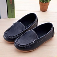 baratos Sapatos de Menina-Para Meninos / Para Meninas Sapatos Couro Ecológico Primavera & Outono Conforto Mocassins e Slip-Ons para Infantil Fúcsia / Marron / Azul Real