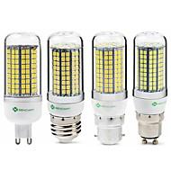 billige Kornpærer med LED-SENCART 1pc 6 W 950 lm E14 / G9 / GU10 LED-kornpærer T 180 LED perler SMD 2835 Nytt Design / Dekorativ Varm hvit / Hvit 220-240 V / 110-130 V