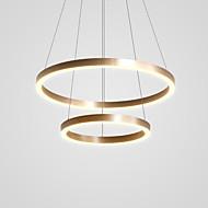 billige Takbelysning og vifter-CONTRACTED LED® 2-Light Sirkelformet / Originale Lysekroner Nedlys Børstet Aluminum Justerbar, Nytt Design 110-120V / 220-240V Varm Hvit / Kald Hvit