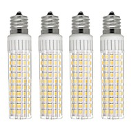 4pcs 8.5 W 1105 lm E17 נורות תירס לד T 125 LED חרוזים SMD 2835 Spottivalo לבן חם לבן קר 110 V