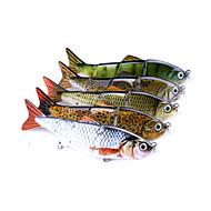 billiga Fiske-1 pcs Hårt bete / Fiskbete / Fiske Verktyg Hårt bete Plastik / Kolstål Avtagbar / Vattentålig / Justerbar Sjöfiske / Kastfiske / Spinnfiske