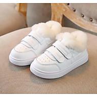 baratos Sapatos de Menino-Para Meninos / Para Meninas Sapatos Microfibra Primavera & Outono Conforto Tênis Velcro para Bébé Branco