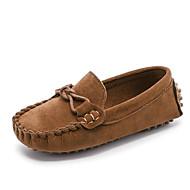 baratos Sapatos de Menino-Para Meninos / Para Meninas Sapatos Couro Ecológico Primavera & Outono Conforto Rasos para Infantil / Adolescente Fúcsia / Marron / Azul