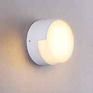 tanie Oświetlenie lustra-OYLYW Wodoodporny / Styl MIni LED / Współczesny współczesny Lampy ścienne / Oświetlenie łazienkowe w pomieszczeniach / Na zewnątrz Metal Światło ścienne IP54 85-265V 5 W