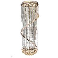 billige Taklamper-QINGMING® 9-Light Takplafond Omgivelseslys Krom Metall Krystall 110-120V / 220-240V Varm Hvit Pære Inkludert / GU10