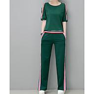 Kadın's Set Solid Pantolon