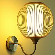 billige Vegglamper-Kul Moderne Moderne Vegglamper Innendørs Metall Vegglampe 220-240V 40 W