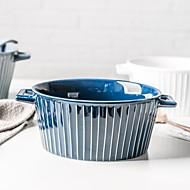 billiga Bordsservis-1-Piece Djupa tallrikar Servisuppsättningar Skålar & Vattenflaskor servis Keramisk Värmetålig Ny Design Förtjusande