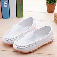 Para Meninos / Para Meninas Sapatos Couro Ecológico Primavera & Outono Conforto Mocassins e Slip-Ons para Infantil Fúcsia / Marron / Azul Real