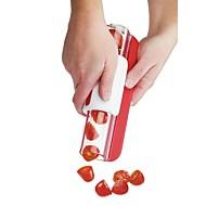 tanie Akcesoria do owoców i warzyw-1 szt. Narzędzia kuchenne Stal nierdzewna + Plastic Kreatywny gadżet kuchenny Akcesoria do owoców i warzyw Pomidor / Fioletowy