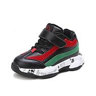 baratos Sapatos de Menino-Para Meninos Sapatos Couro Ecológico Inverno Conforto Tênis Corrida para Adolescente Cinzento / Vermelho