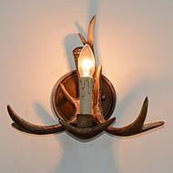 billige Vegglamper-Kreativ Land Vegglamper Innendørs Harpiks Vegglampe 220-240V 5 W