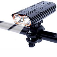 LED Światła rowerowe Światła przednie Kolarstwo Wodoodporny Trwały 18650 2000 lm Można ładować Kolarstwo / Rower