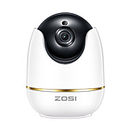 billiga Babymonitorer-zosi® ip kamera 2mp 1080p hd pan / tilt / zoom trådlös wifi säkerhetsövervakning systemtwo-vägs ljudbarn / barnflicka / husdjur monitor inomhus / utomhus