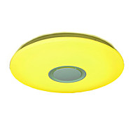 billige Taklamper-YWXLIGHT® Skyllmonteringslys Omgivelseslys Akryl Flerskjerms, Mulighet for demping, Fargegradering 85-265V RGB