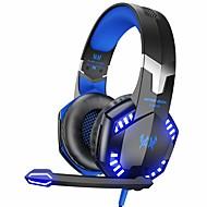 povoljno Headsetovi i slušalice-svaki g2000 stereo slušalice za igranje za xbox jedan ps4 pc, surround zvuk preko ušnih slušalica s mikrofonom za uklanjanje buke, LED svjetla, kontrola glasnoće za laptop, mac, ps3, nintendo switch i