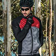 ... ποδηλασίας Ποδήλατο Σακάκι Αντιανεμικό Αναπνέει Αθλητισμός Συμπαγές  Χρώμα Ελαστίνη Χειμώνας Μαύρο   Κόκκινο Ποδηλασία Βουνού Ποδηλασία Δρόμου  Ρούχα ... 37f0d13c007