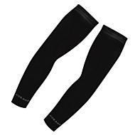 kol Isıtıcıları Sıkıştırma Çorap Spor Çorapları / Atletik Çoraplar Bisiklet Çorapları Bisiklet / Bisiklet Bisiklet Hızlı Kurulama Ultravioleye Karşı Dayanıklı 2 Solid Suni İpek Beyaz Siyah XL XXL XXXL