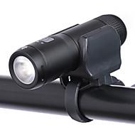 billige Sykkellykter og reflekser-Lampe / Frontlys til sykkel - Sykkellykter LED Sykling Bærbar, Holdbar Lithium-batteri 200 lm Innebygd Li-batteridrevet Hvit Dagligdags Brug / Sykling - Wheel up