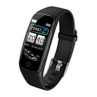 cheap -KUPENG V8 Unisex Smart Bracelet Smartwatch Android iOS Bluetooth Smart Waterproof Heart Rate Monitor Blood Pressure Measurement Touch Screen Pedometer Call Reminder Activity Tracker Sleep Tracker