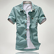 Camicia Per uomo Essenziale Tinta unita / Pop art